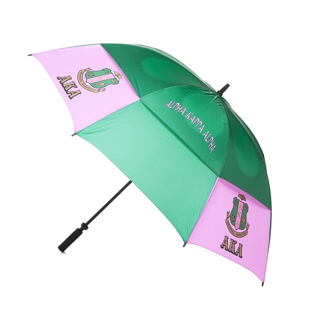 Air Vent Golf Umbrella-Alpha Kappa Alpha