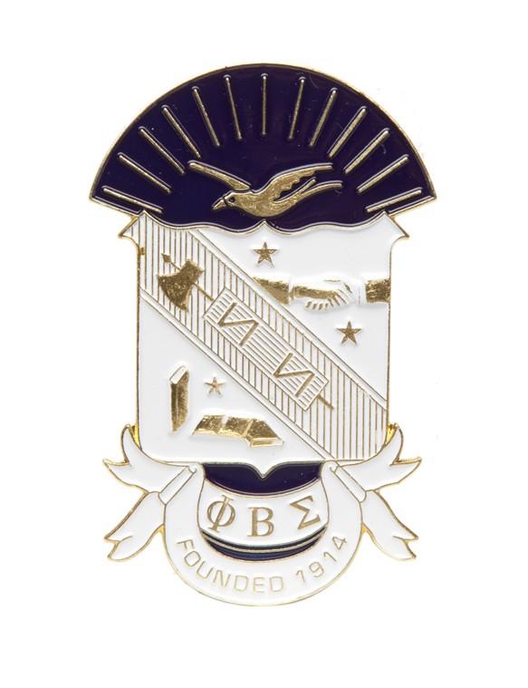 Die cut car badge-Phi Beta Sigma
