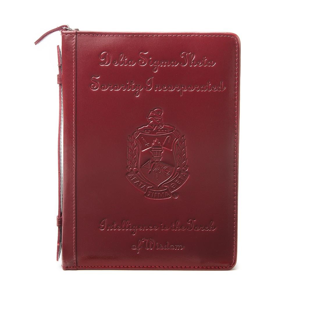 The Motto Leather Ritual Book Cover Delta Sigma Theta