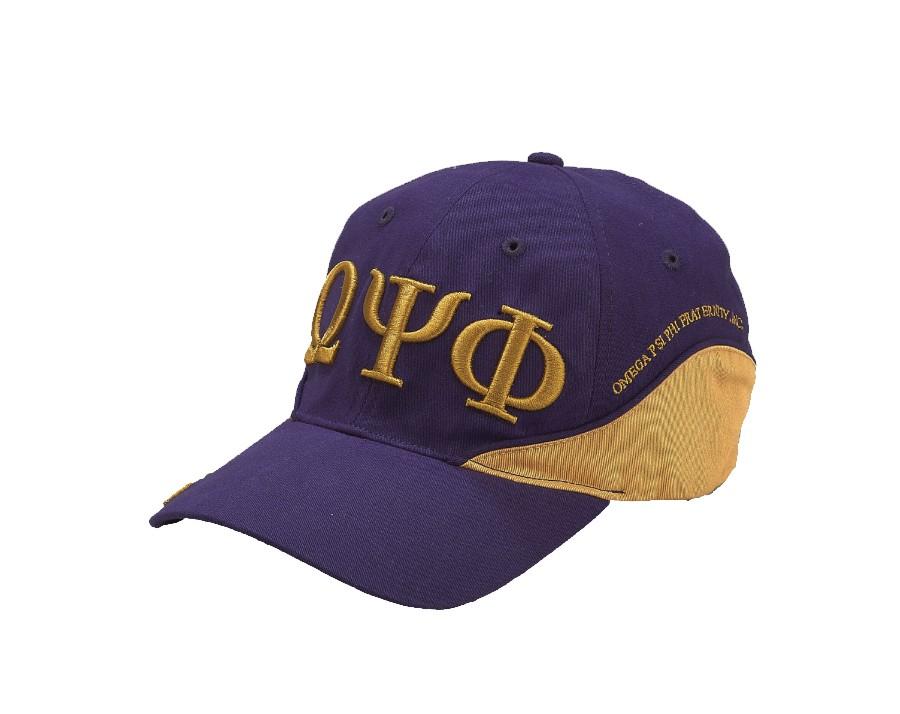 Two-Tone Fraternity Cap-Omega Psi Phi