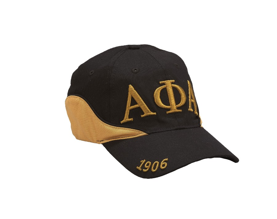 Two-Tone Fraternity Cap-Alpha Phi Alpha