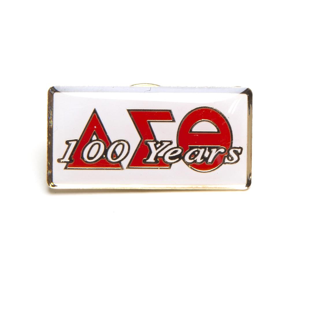 Delta 100 YEARS Lapel Pin