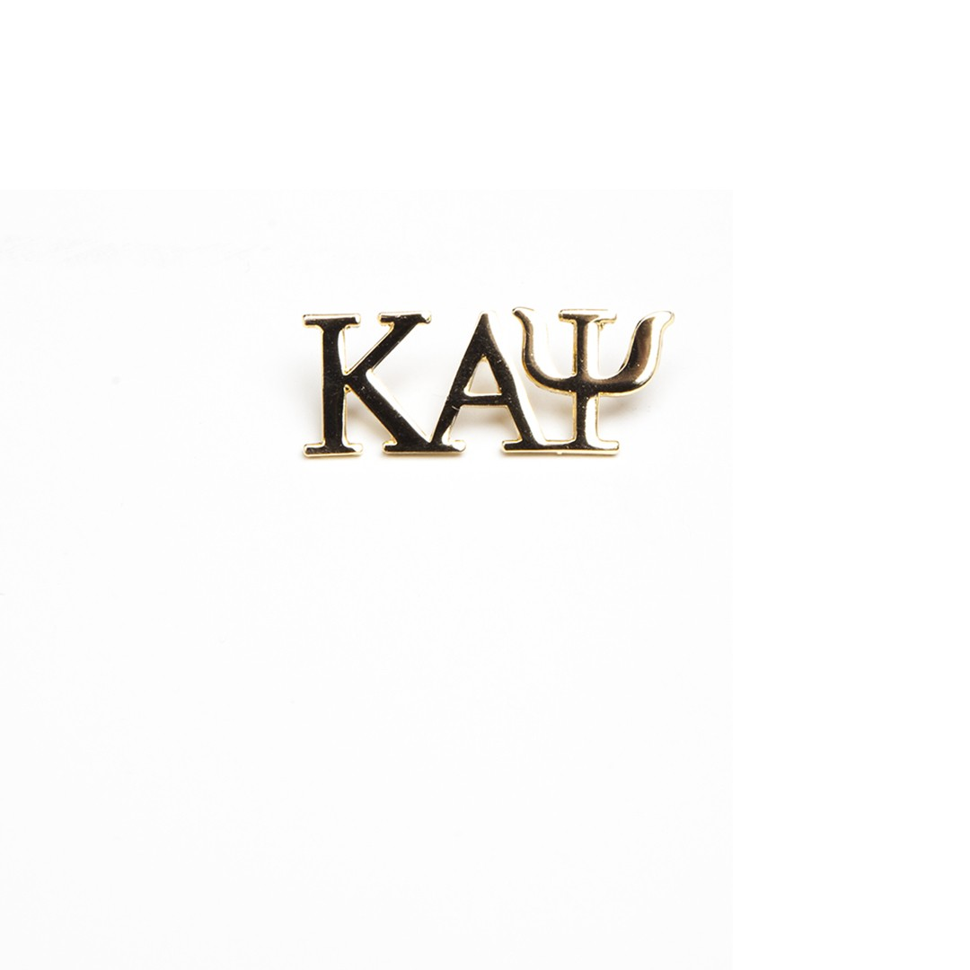 3 Letter Gold Pin-Kappa Alpha Psi