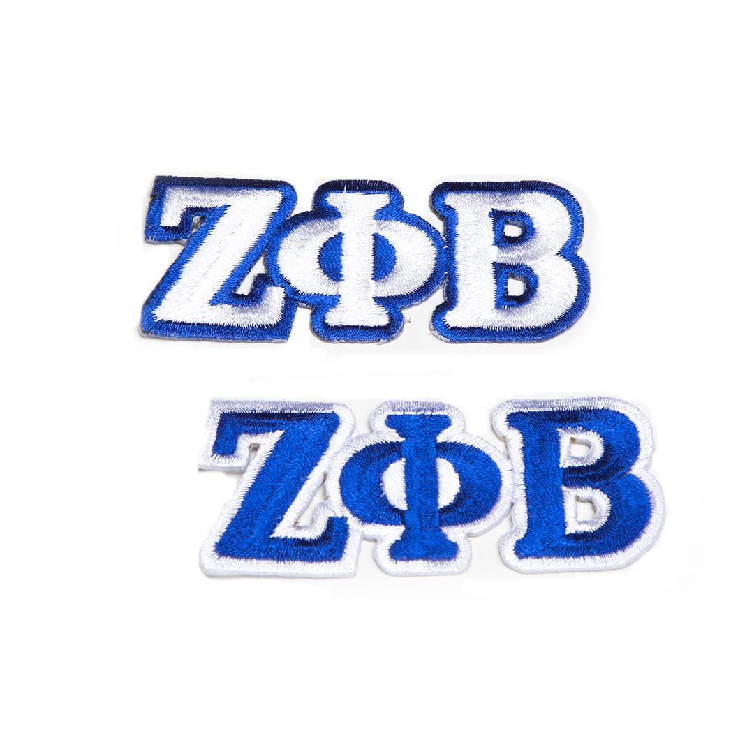 Zeta Phi Beta Greek Letters