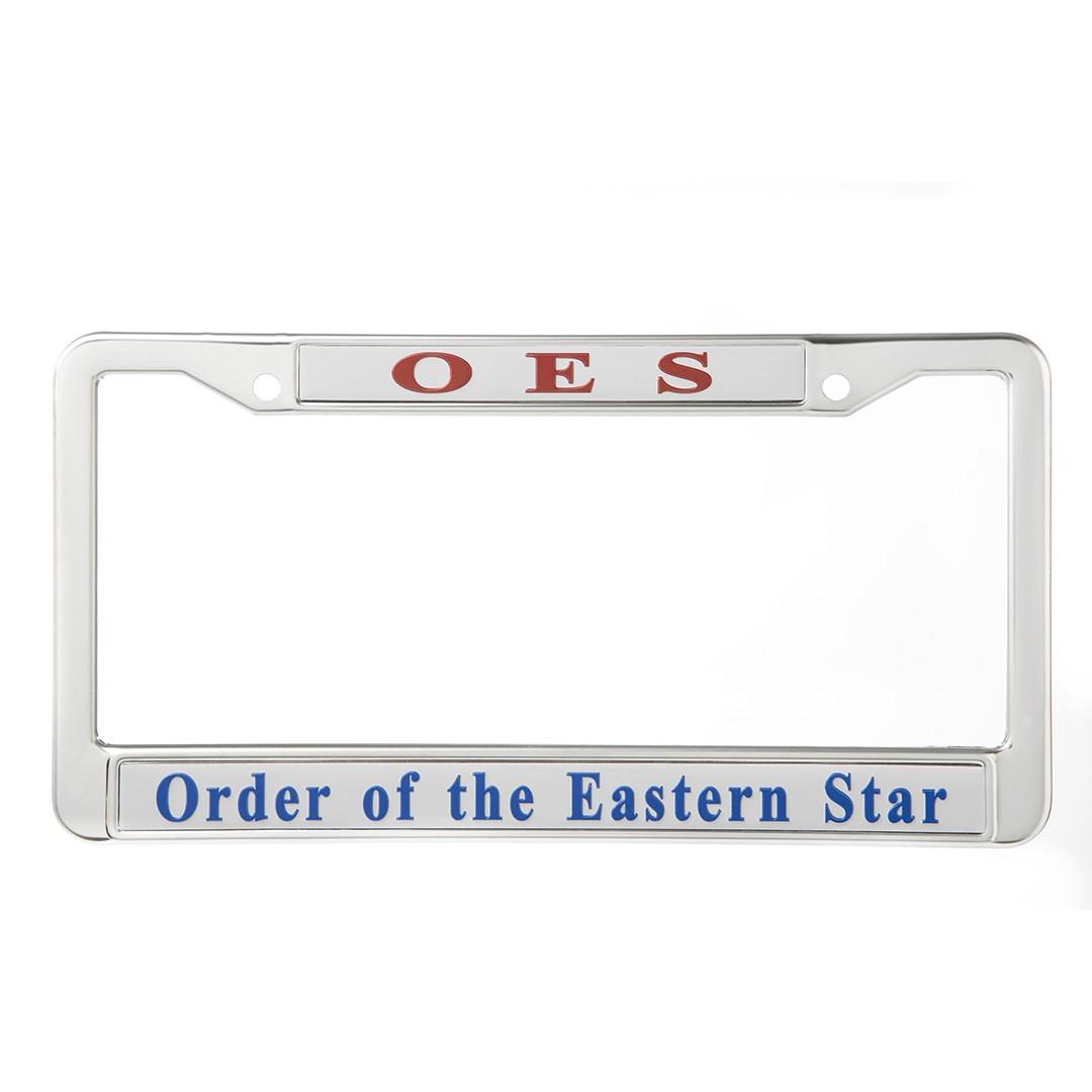 Metal License Frame-Eastern Star