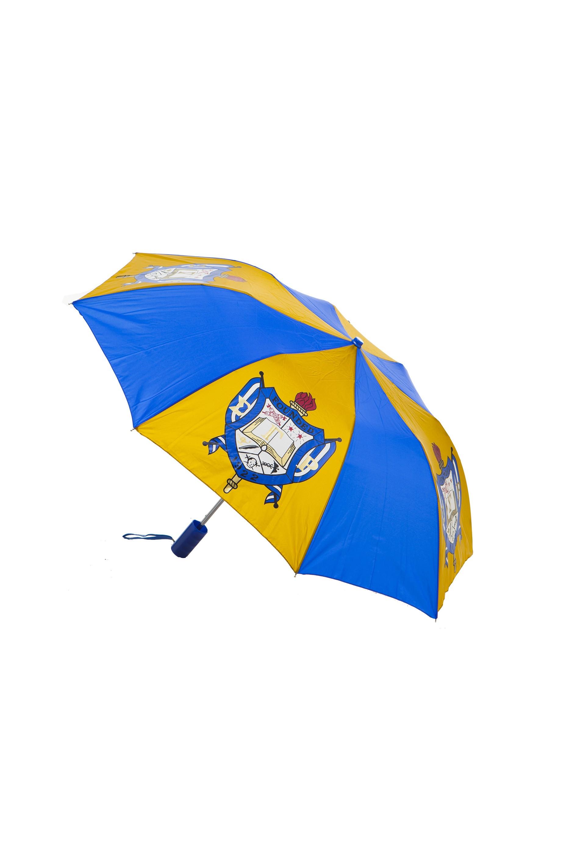 Folding Umbrella 10 Inch Shield-Sigma Gamma Rho
