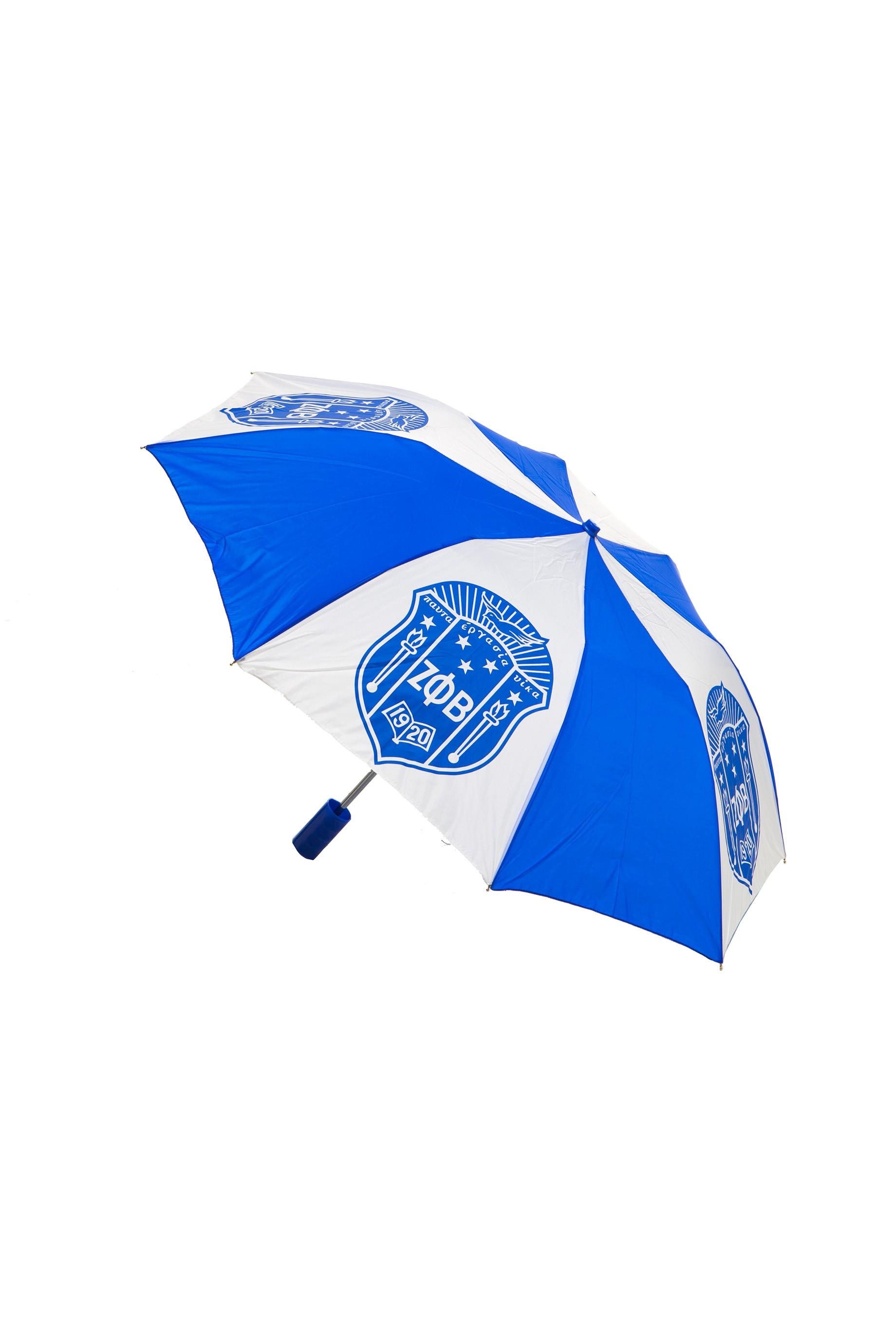 Folding Umbrella 10 Inch Shield-Zeta Phi Beta