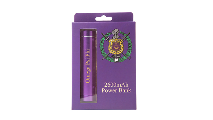 Omega Psi Phi Power Bank