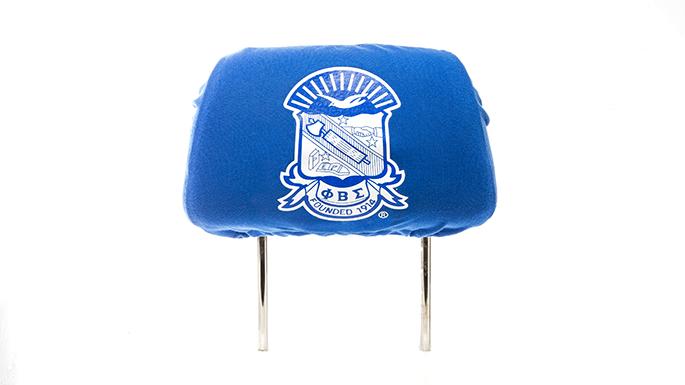 Phi Beta Sigma Headrest