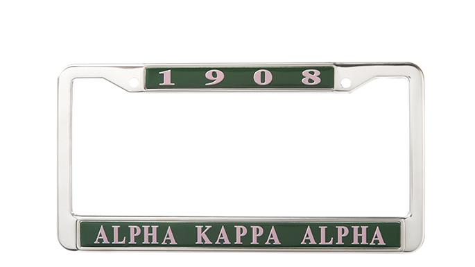 Alpha Kappa Alpha License Frame