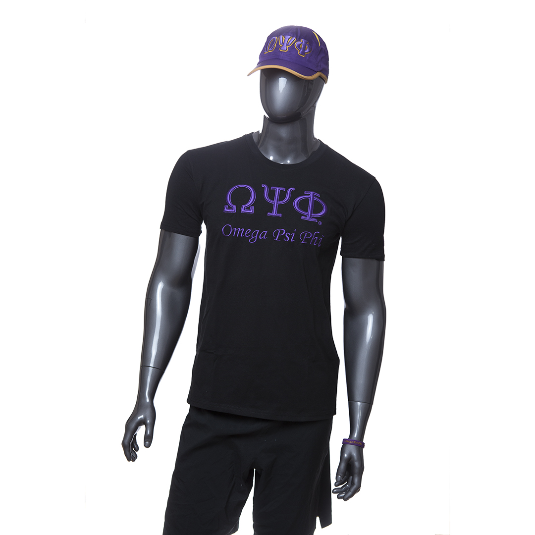 Omega Psi Phi Full Body Mannequin