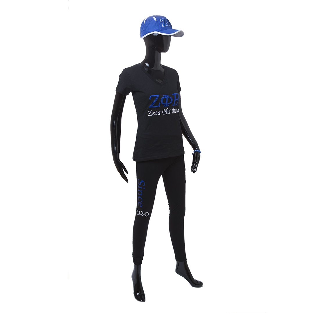 Zeta Phi Beta Full Body Mannequin
