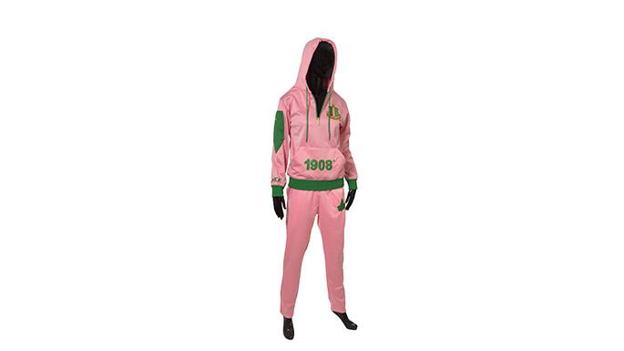 Pink Hoodie Sweatsuit