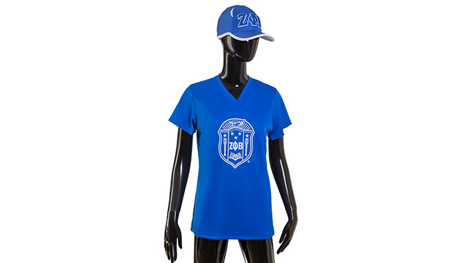 Zeta Phi Beta Performance Tee