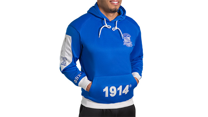 Phi Beta Sigma Hoodie Pullover