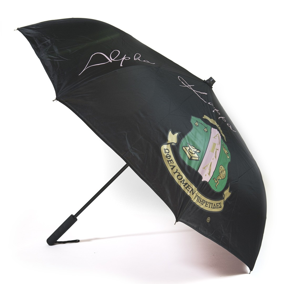 Inverted Umbrella w/ Flashlight Handle