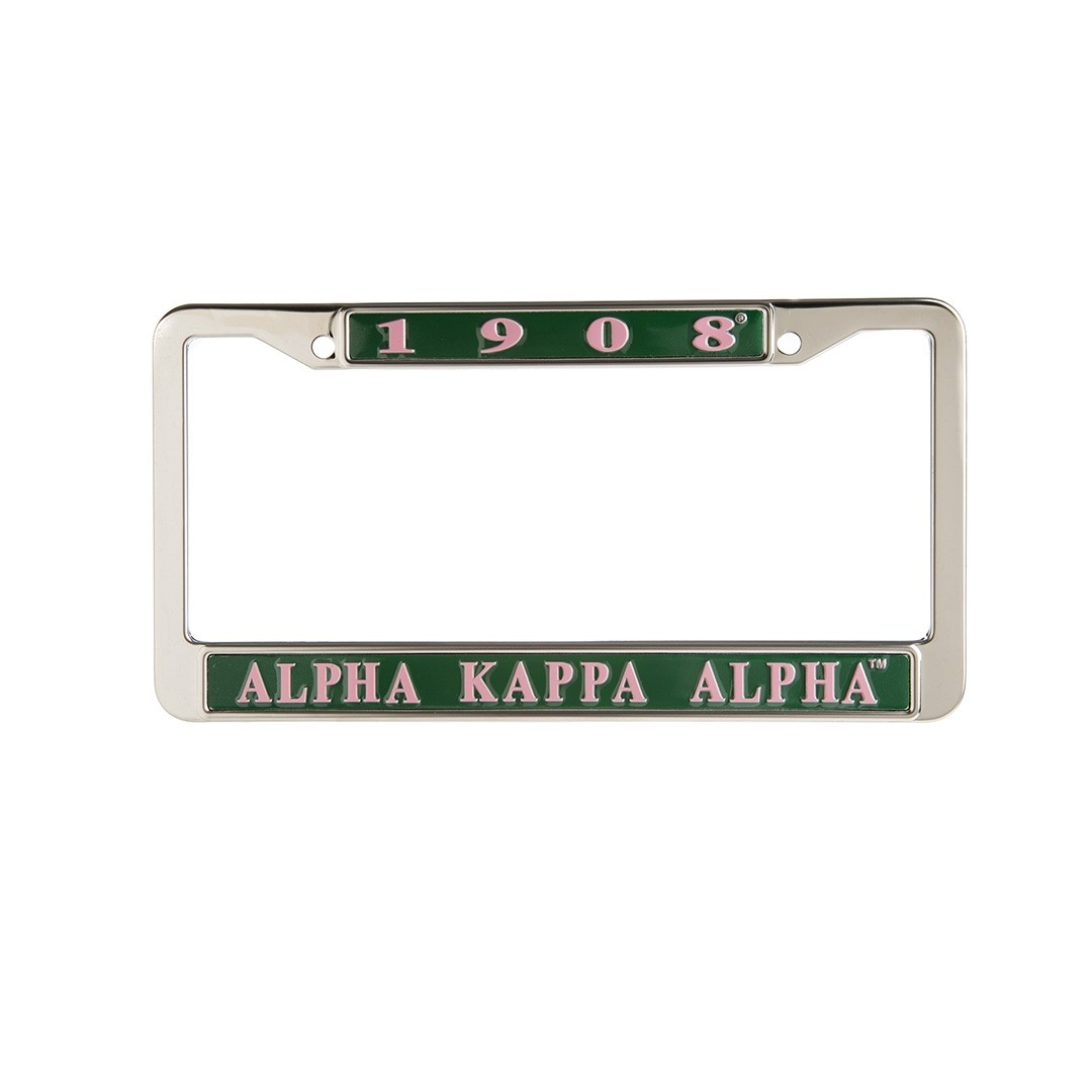 Metal License Frame
