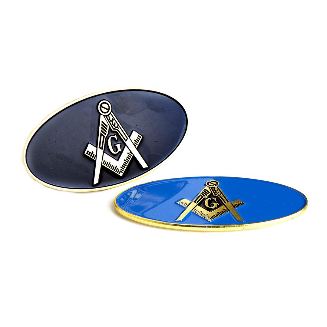 Oval Car Badge