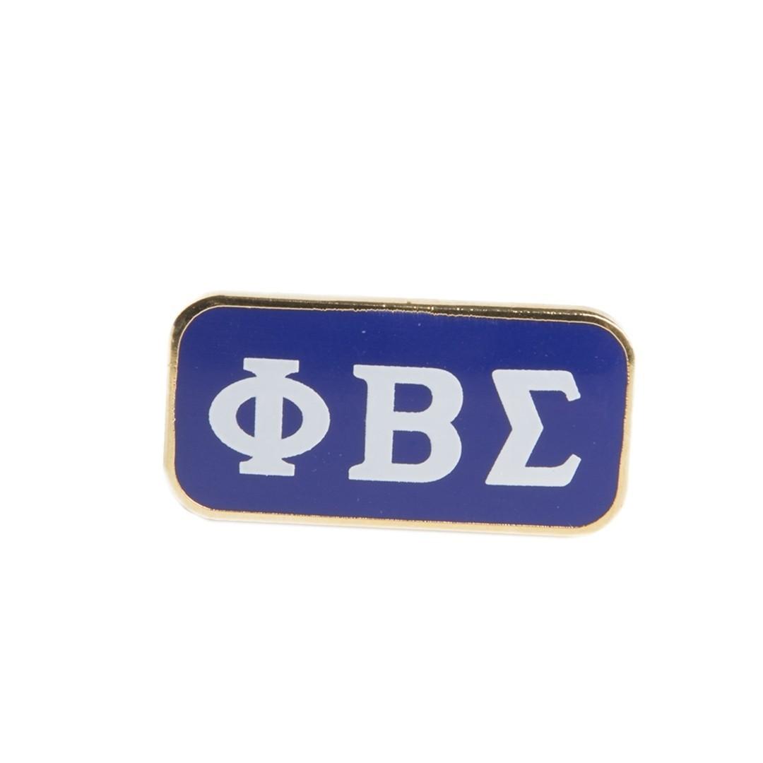 3 Letter Lapel Pin