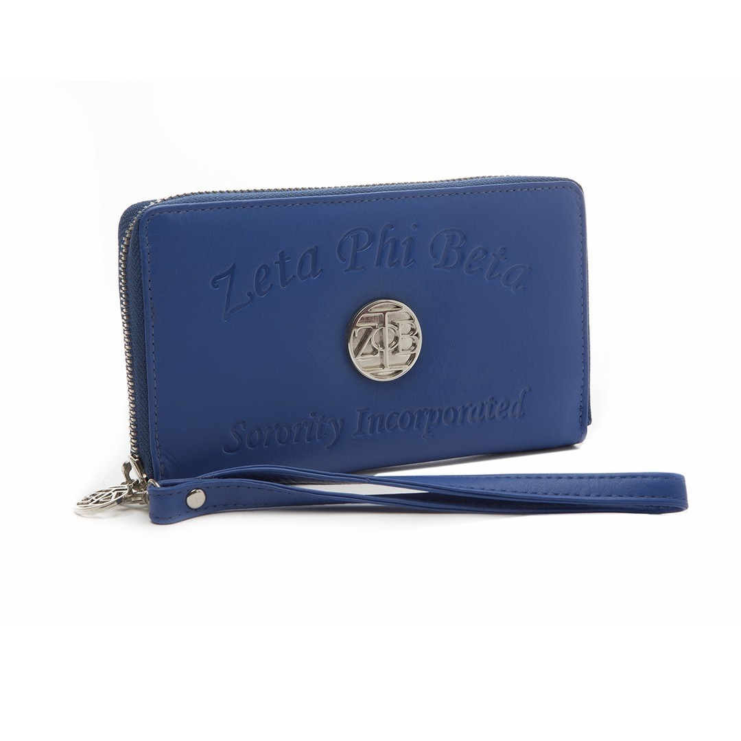 Ladies Embossed Soft Leather Wallet
