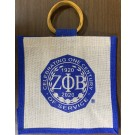 Centennial Mini Jute Bag - Zeta Phi Beta