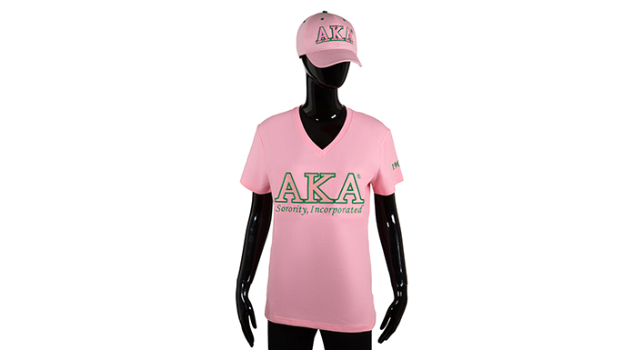 AKA Pink Luxury Tee