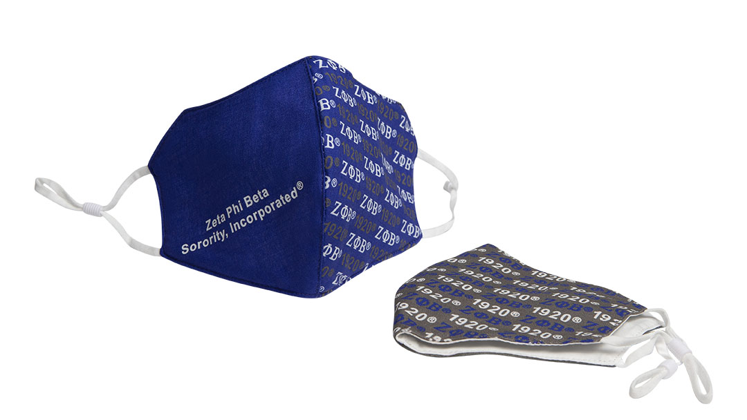 Zeta Phi Beta Mask Set