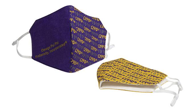 Omega Psi Phi Mask Set