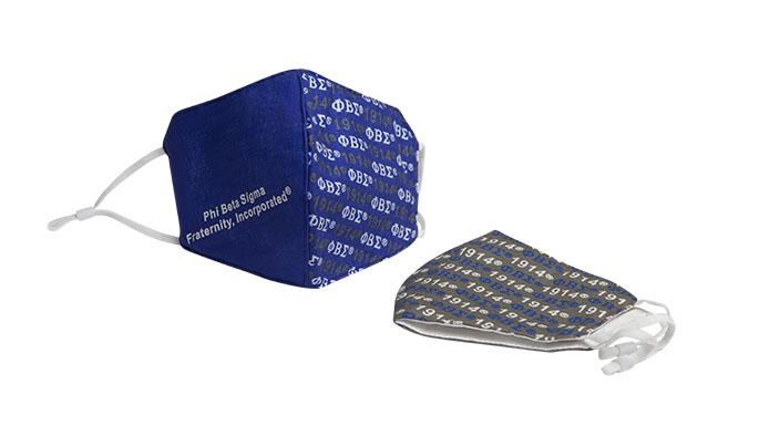 Phi Beta Sigma Mask Set